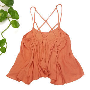 Urban Outfitters Tops - NWT Ecote Criss-Cross Embroidered Tank Sz XS